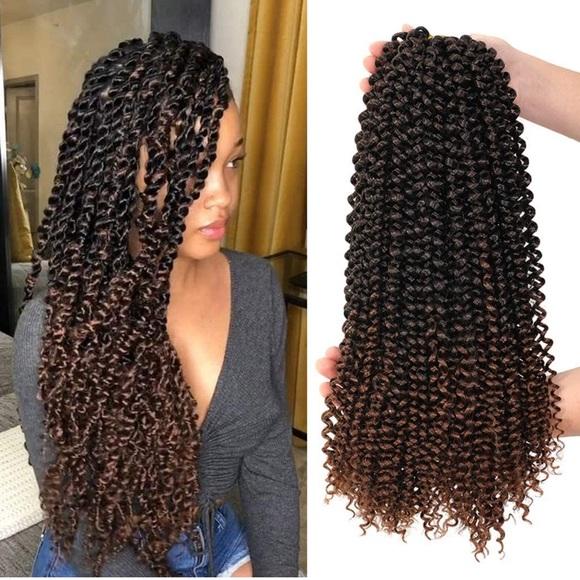 Dansama 7pack Twist Hair Water Wave Braiding Hair